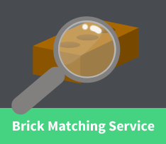 Brick matching graphic